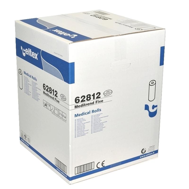 Draps d'examen Draps d'examen Celtex 62812 - Luxe gaufré collé - 120 formats 38 x 50 -  Carton de 9 rouleaux