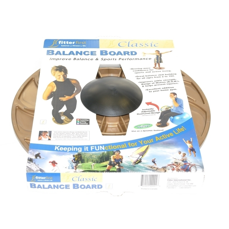 Produits divers Plateau d'équilibre Balance Board - Fitter First Classic