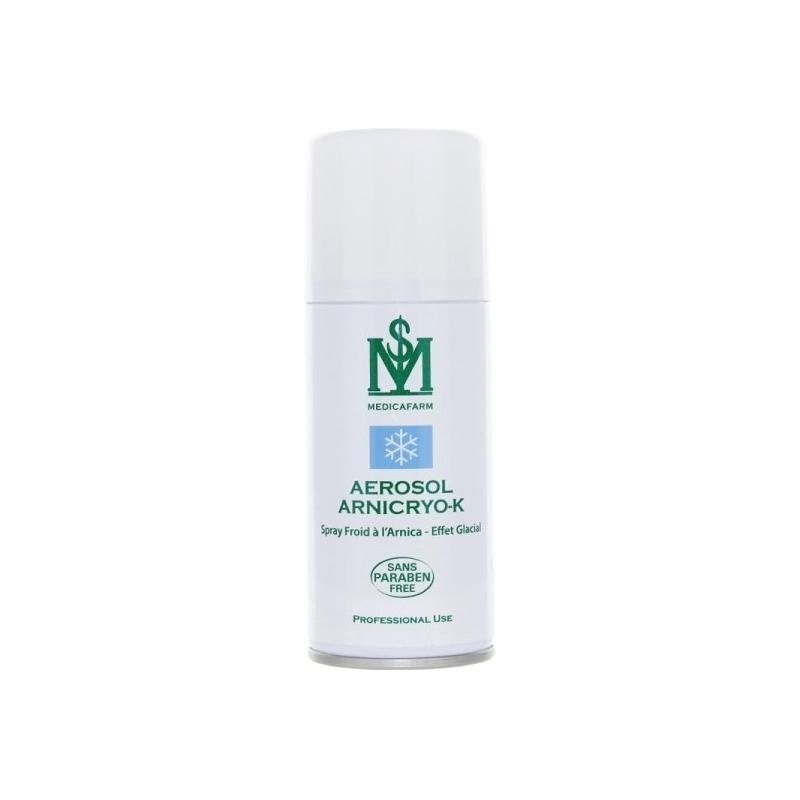 Gel froid Aérosol Arnicryo K - A l'Arnica - Medicafarm - Spray froid 150 ml