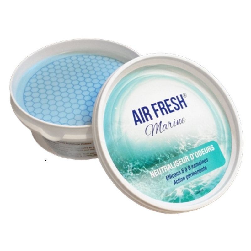 Air Fresh Marine - Neutraliseur d'odeurs - Pot 250 gr