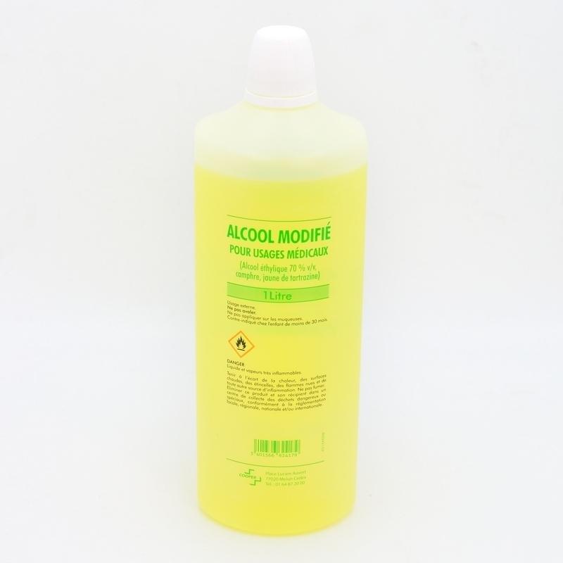 Alcool & Chlorhexidine  Alcool modifié 70% Cooper - Flacon 1 L