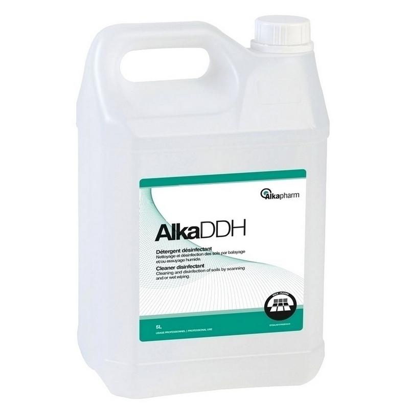 Nettoyage et désinfection sols & surfaces AlkaDDH - Détergent désinfectant - Sans rinçage - Bidon 5 litres