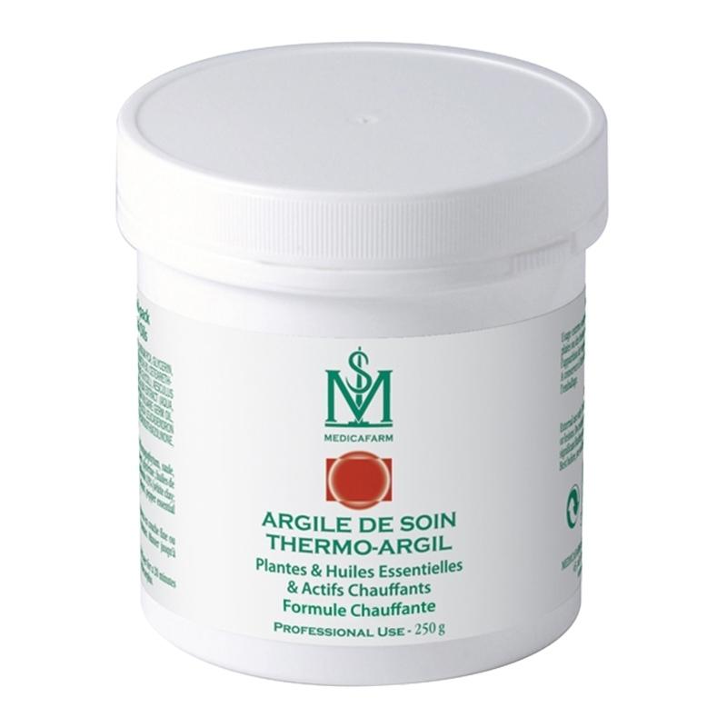 Gel chaud Argile de soin - Chaleur Intense - Medicafarm - Pot 250 g