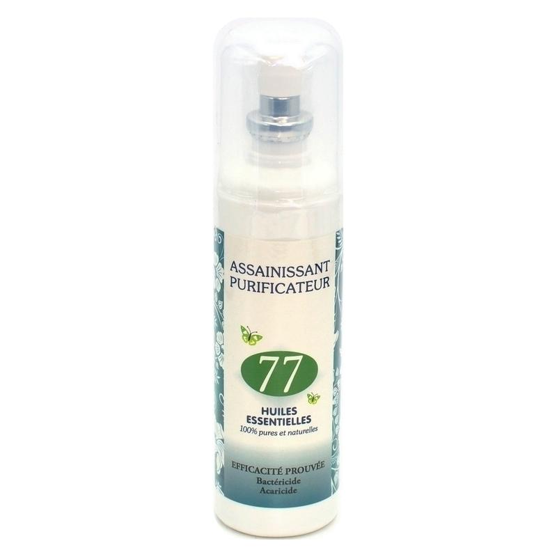 Toutes les promotions Assainissant purificateur - Aux 77 huiles essentielles - Spray 125 ml