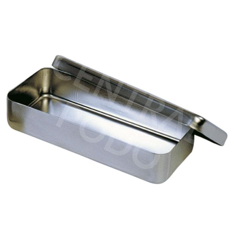 Plateaux et boîtes plastiques Boîte à instruments - Inox - Taille unique
