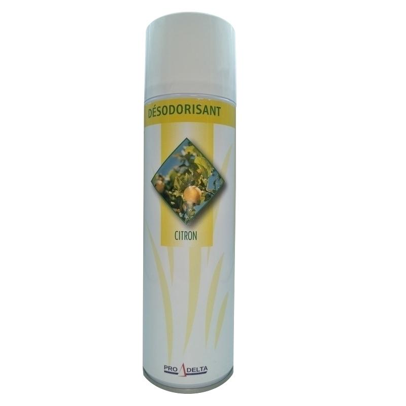 Traitement air et odeur Bombe désodorisante - Parfum Citron - Aérosol 500 ml