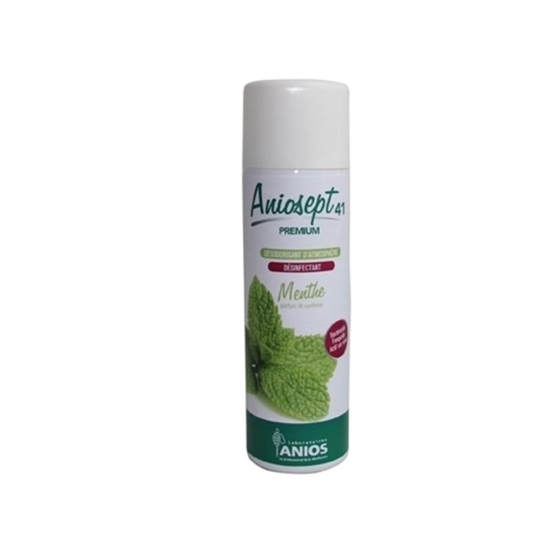 Traitement air et odeur Aniosept 41 Menthe - Désinfection rapide - Aérosol 400 mL