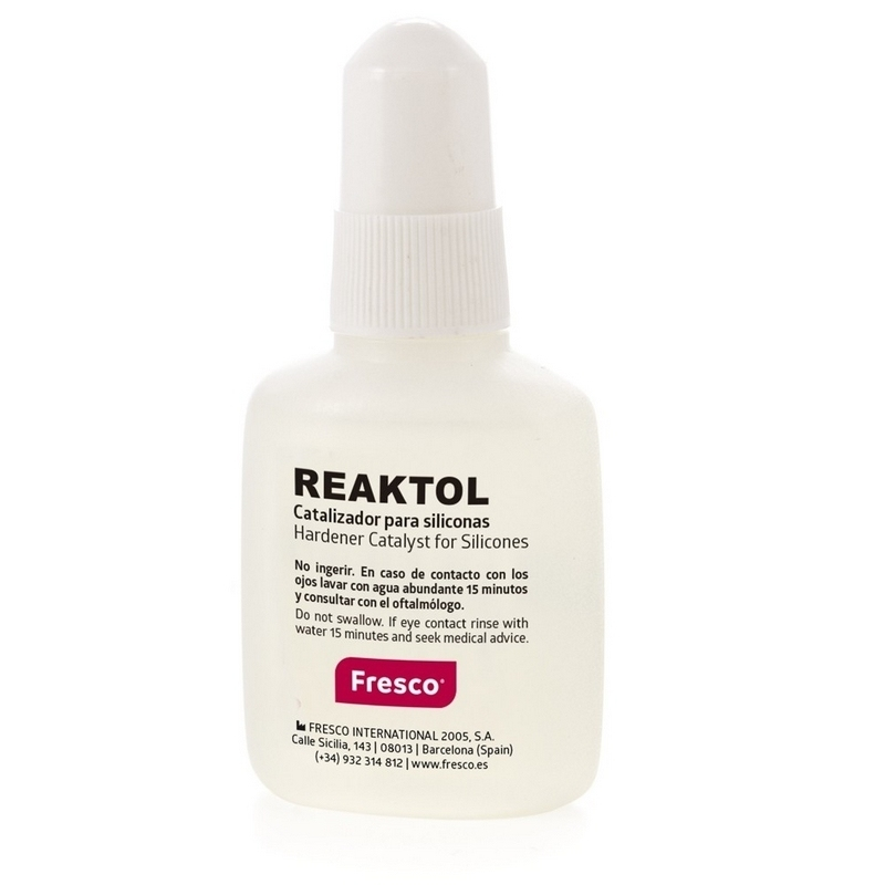 Orthoplastie Catalyseur Liquide Réaktol - Flacon de 20 ml