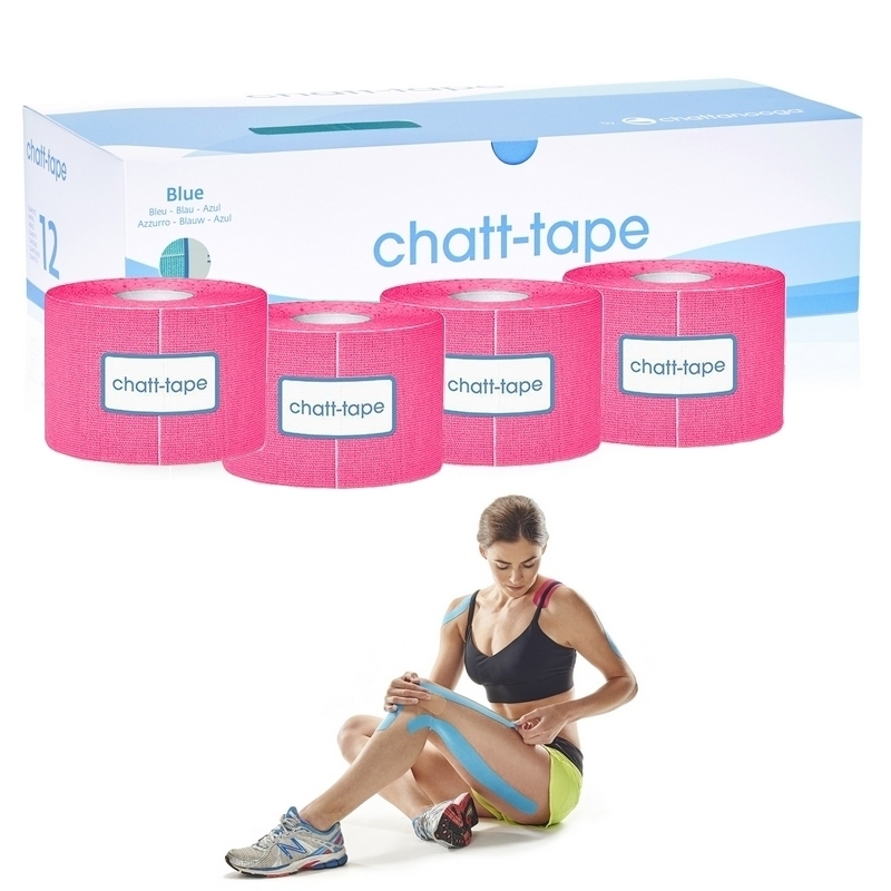 Taping Chatt Tape - Bande adhésive élastique - 5 cm x 5 m - Différents coloris
