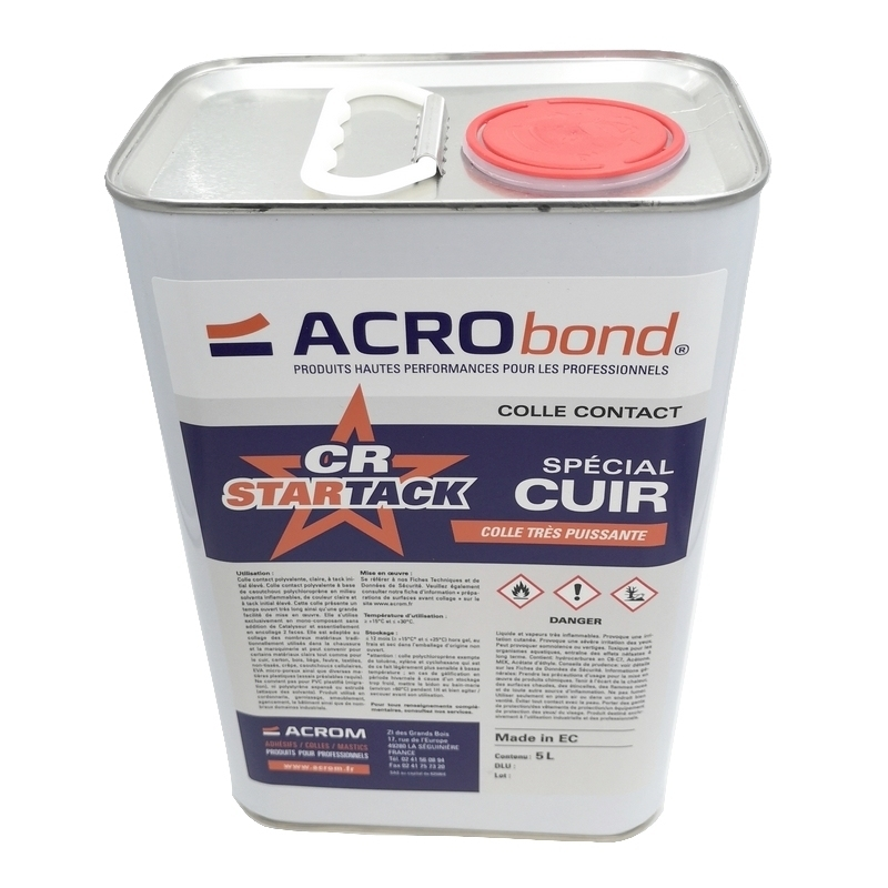 Colle contact Acrom - Acrobond CR Star Tack - Bidon 5 litres