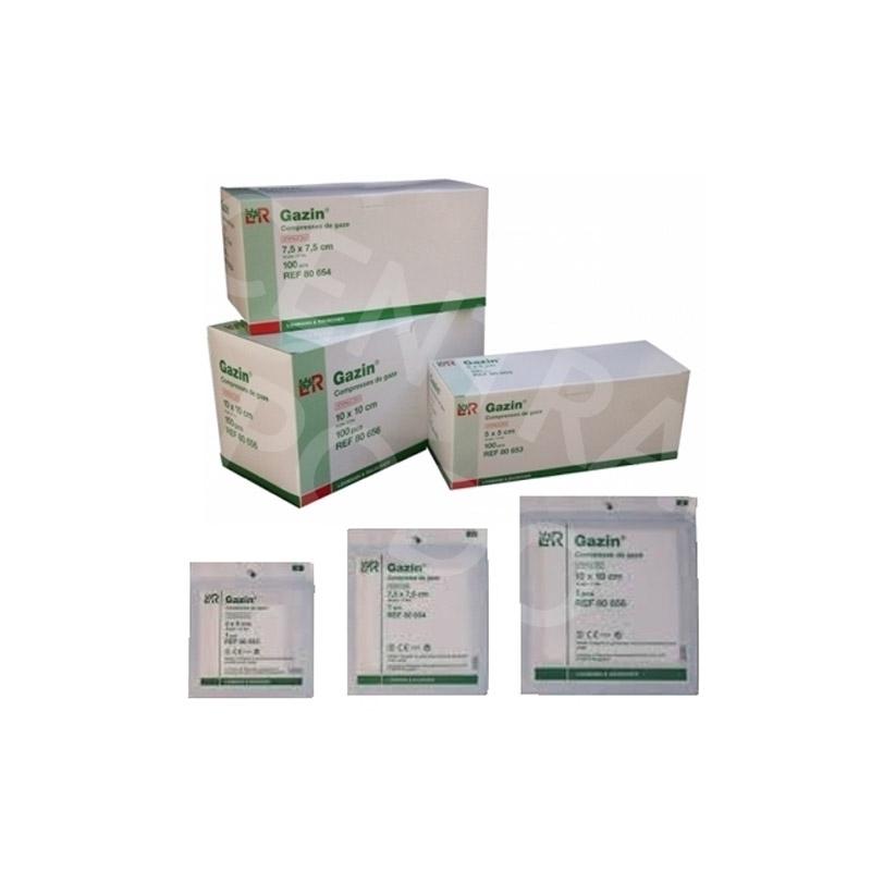 Compresses Compresse de gaze stérile - Boite x 100 - Toutes tailles