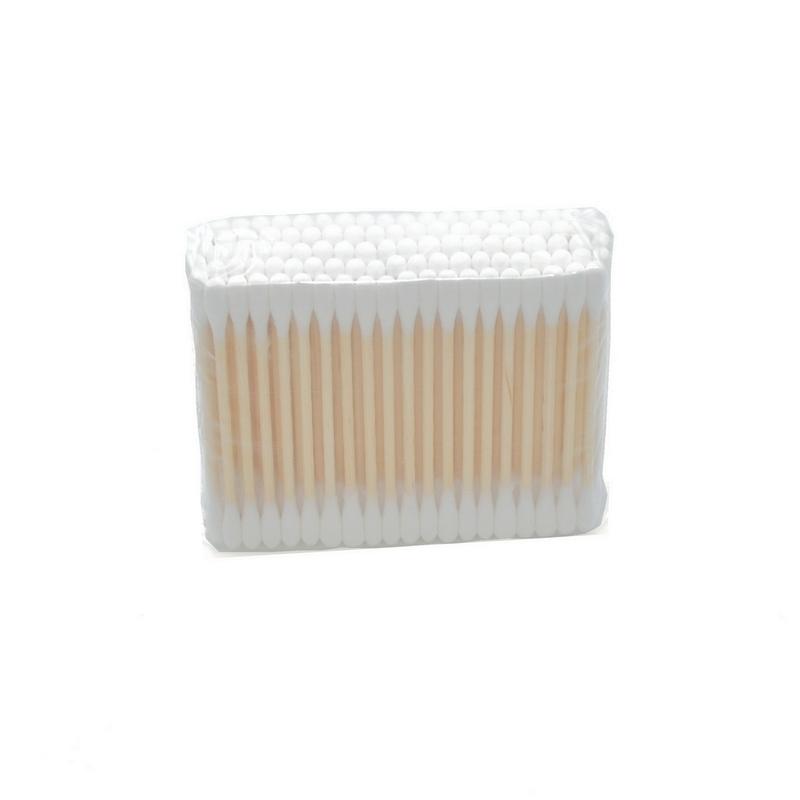 Coton Coton tige Comed - Tige bois - Sachet de 100