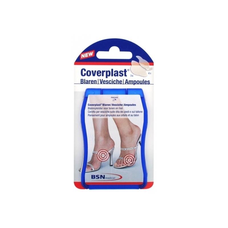 Pansements Coverplast BSN - Pansement ampoules talon et orteils - Boite de 7 pièces