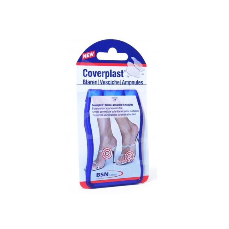 Pansements Coverplast BSN - Pansement ampoules - Talons & orteils 7 pièces