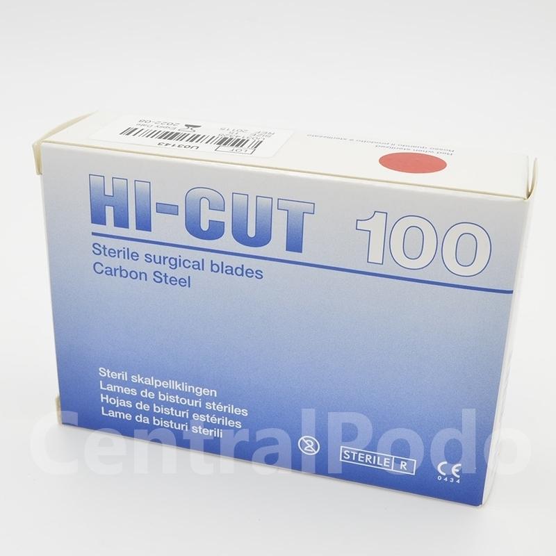 Lame de bistouris n°10 Hi Cut - Stérile - Boite de 100