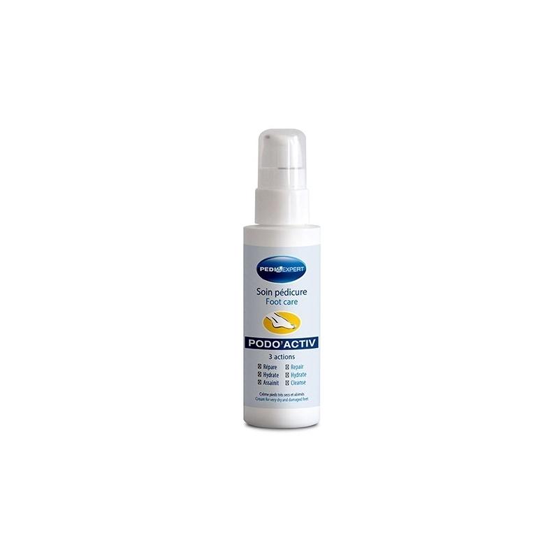 Soin de la peau Soin pédicure complet - PODO'ACTIV 3 actions - 100 ml