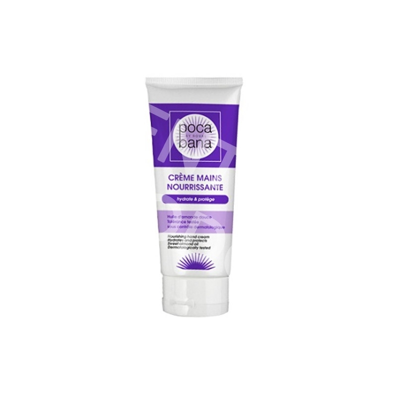 Crème neutre Crème mains Pocabana - Nourrissante - Tube 100 ml