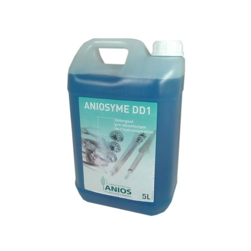 Désinfection du matériel Aniosyme DD1 - Nettoyant et pré-désinfectant - Bidon de 5 litres