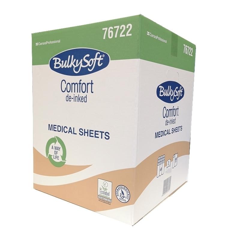 Toutes les promotions Drap d'examen gaufré Comfort - BulkySoft 76722 - 135 formats 50 x 34 - Carton de 9 rouleaux