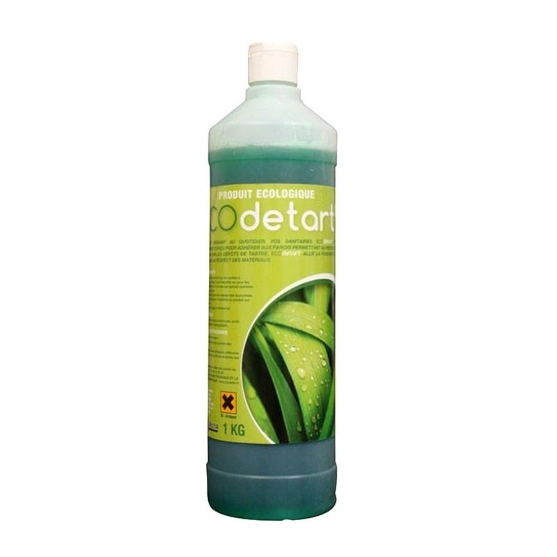 Nettoyage et désinfection sols & surfaces Ecodetart' - Détartrant sanitaire écologique - Flacon de 1 L
