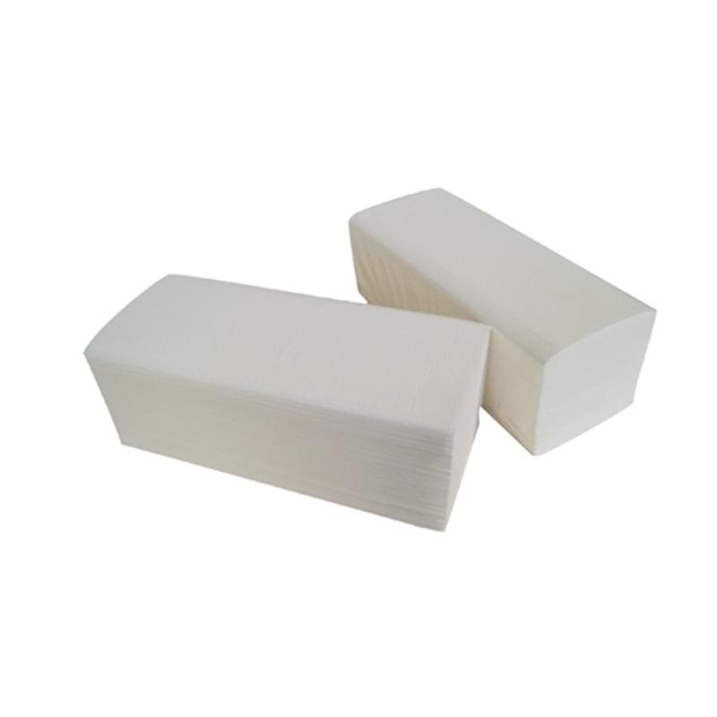 Bobines & Essuie-mains  Essuie mains enchevêtrés en V - Gaufré collé - Carton de 3600 feuilles - H146 Global Hygiène