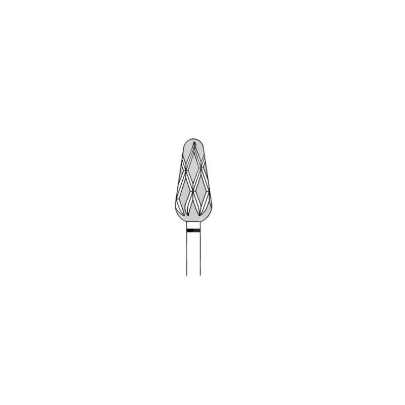 Fraises Fraise rainurée Busch DIA60 - Très gros grain - Abrasion des callosités