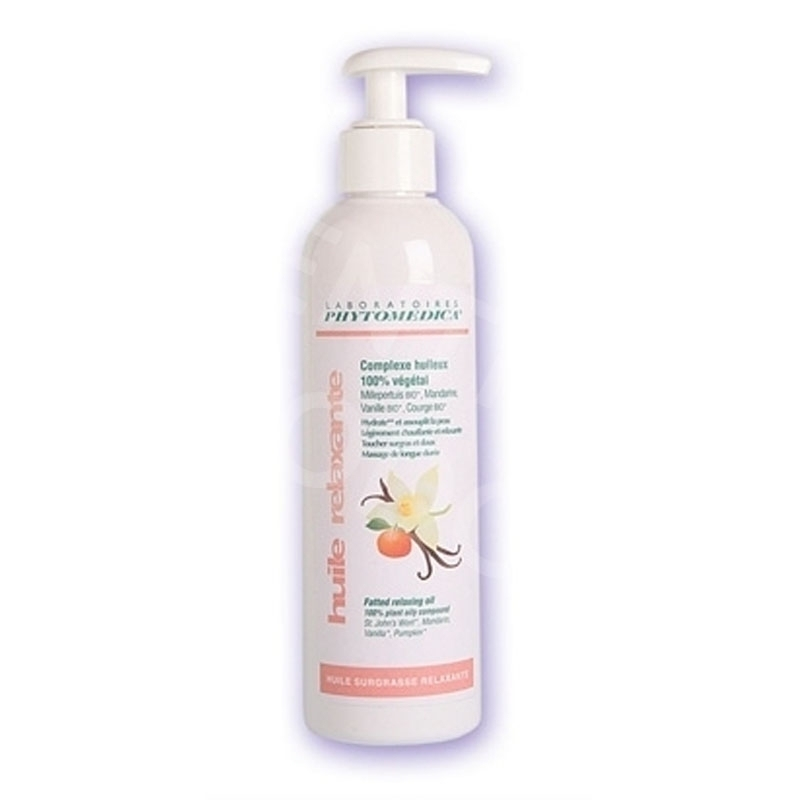 Huile Huile surgrasse relaxante - Phytomedica - Flacon x 250 mL