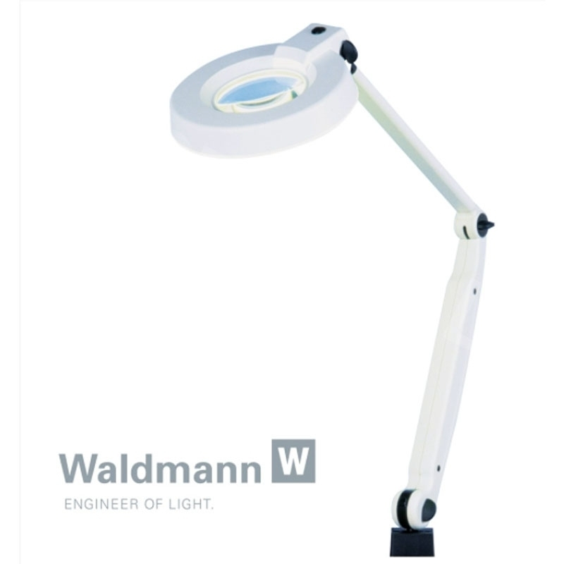 Lampes Lampe loupe RL 122 - 4 dioptries Waldmann - Néon circulaire