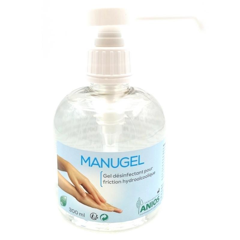 Toutes les promotions Gel désinfectant Manugel Anios - Friction hydroalcoolique - Flacon de 300 ml