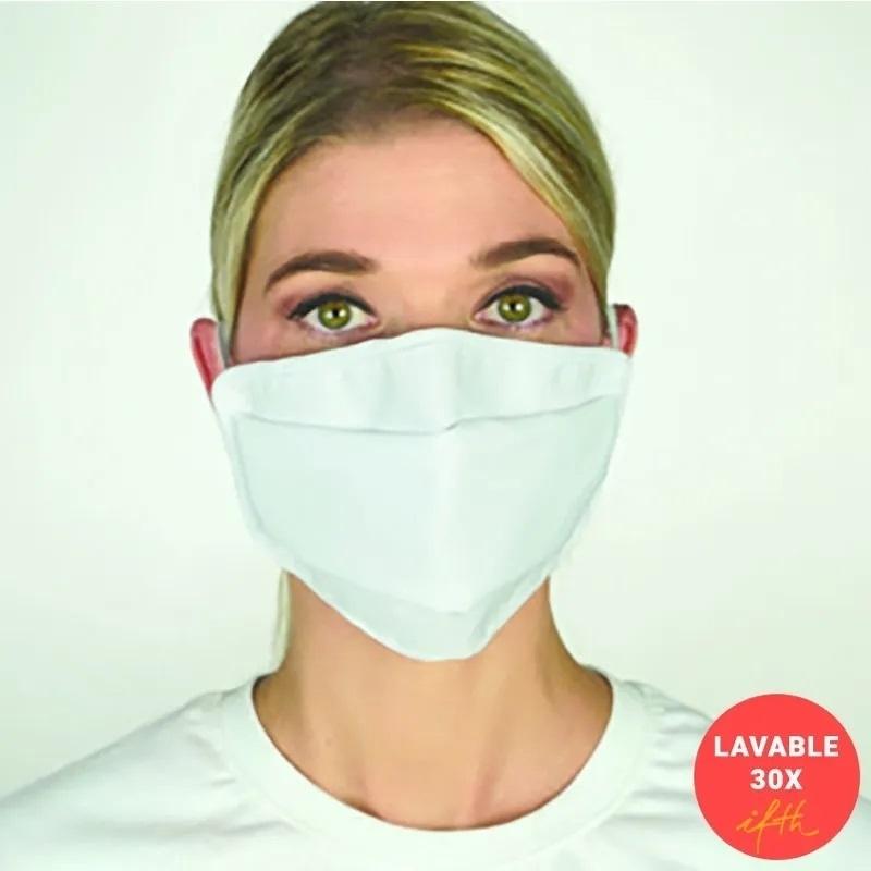 Masque Masque tissu lavable 30 fois - Catégorie 1 UNS 1 - Taille Adulte ou Junior - Unitaire