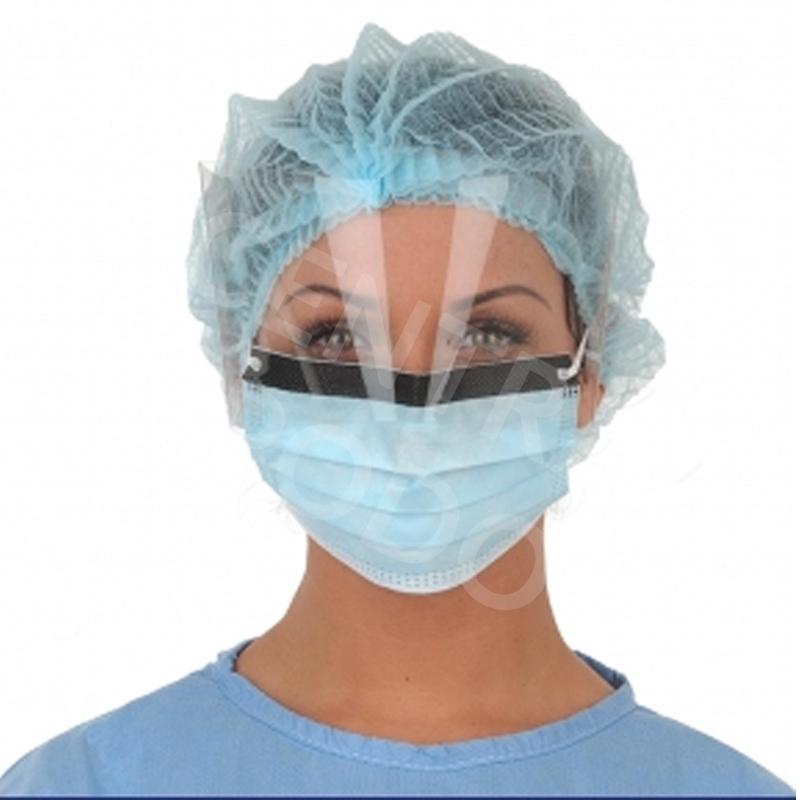 Masque Masque chirurgie à visière - Medistock - Boite x 25