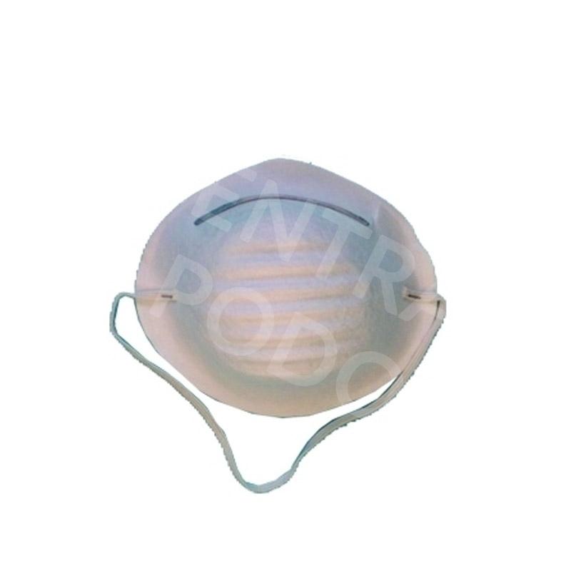 Masque Masque coque blanc - Medistock - Boite de 50