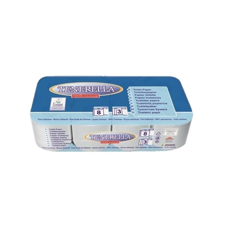 Papier hygiénique Papier toilette 3 plis - Ballot de 8 ou de 72 rouleaux