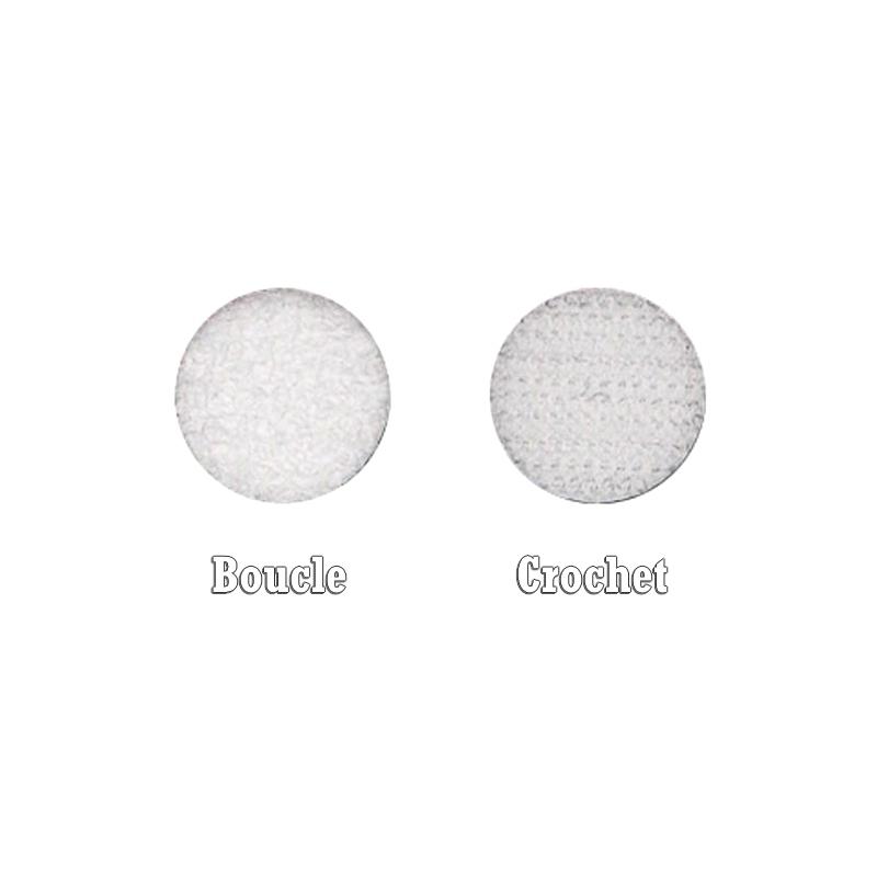 Bande adhésive Velcro - Boucle ou Crochet - Rouleau 25 mètres
