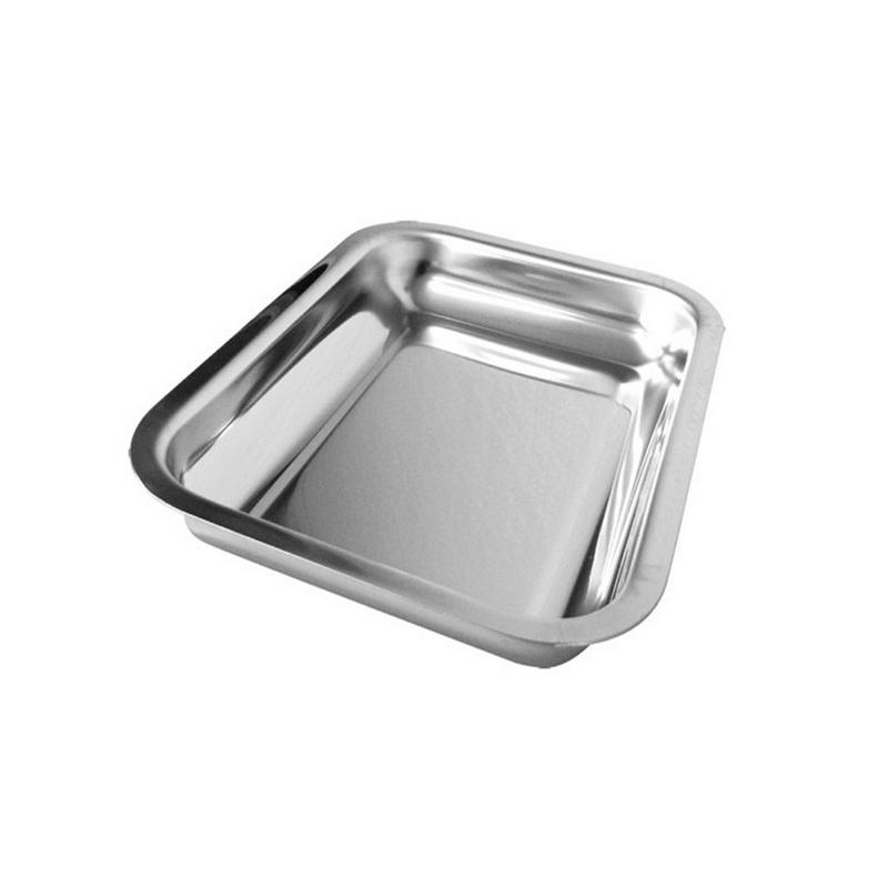 Plateaux et boîtes plastiques Plateau inox - Autoclavable - Toutes tailles