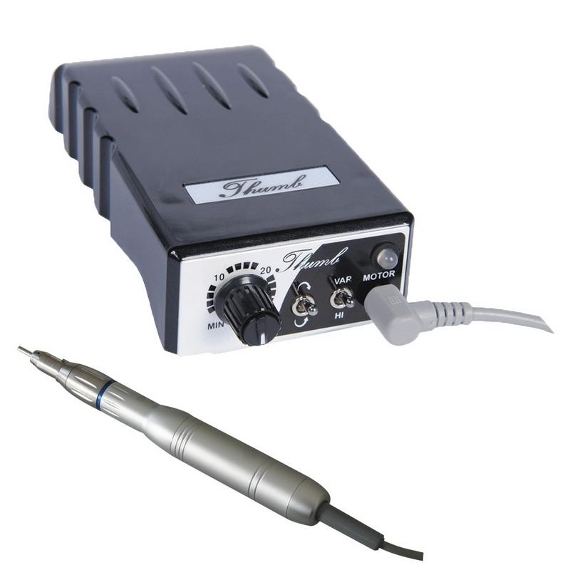 Micromoteurs & moteurs Micromoteur portable Thumb - 30 000 tours - A batterie - Avec pièce à main