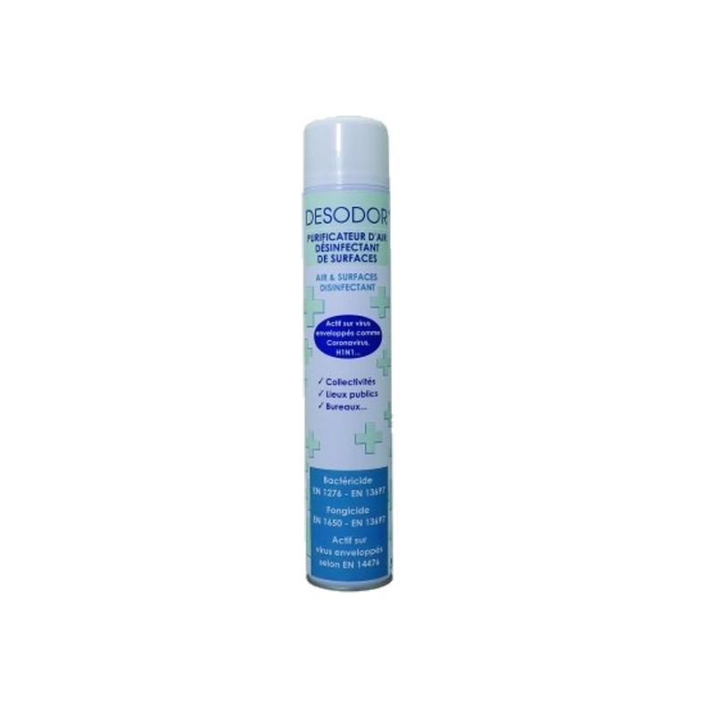 Traitement air et odeur Purificateur d'air & désinfectant surfaces - Parfum Menthe - Aérosol 750 ml