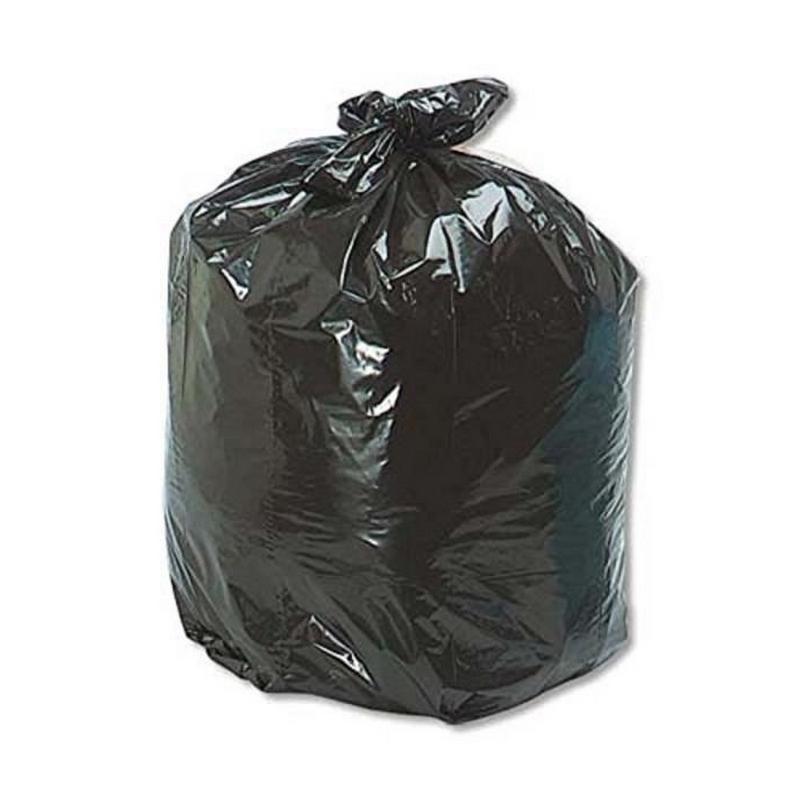 Sacs poubelles Sac poubelle noir 50 litres - Carton de 500