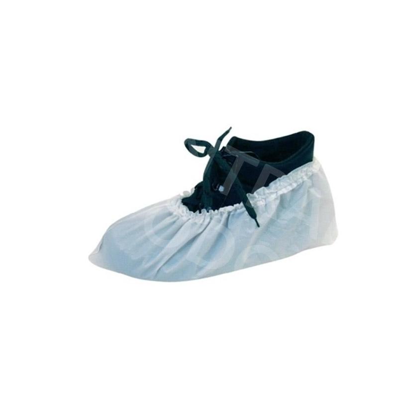 Tablier / Manchette / Surchaussure Surchaussures non tissés blanches - Sachet x 100