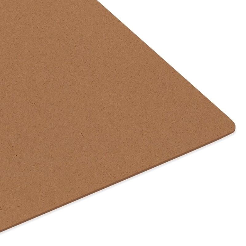 Matériaux Sylomère brun - Shore 15 densité 400 kg/m³ - 75 x 50 cm - Épaisseur 2 mm
