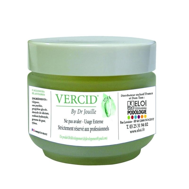 Vercid by Dr Jouille - Traitement callosités plantaires -  Pot de 50 ml